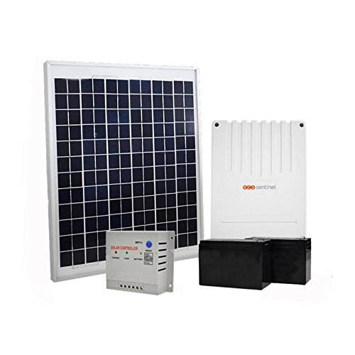 SCS SENTINEL Kit solaire pour motorisation de portail et garage 20 W