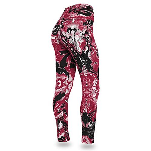Zubaz NFL Arizona Cardinals Women's Swirl Leggings, Multicolor, X-Small