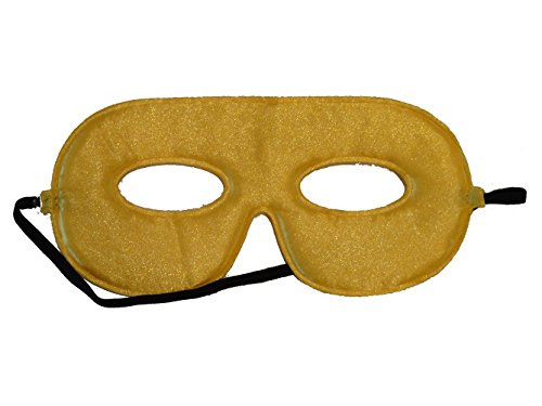 10 Abracadabrazoo Superhero Yellow Satin Masks (Spiderman Reversible Costume)