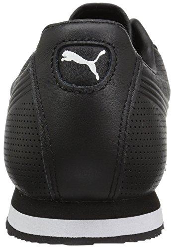 Sneaker Puma Uomo Roma Dlx Perf Puma Nero-puma Bianco