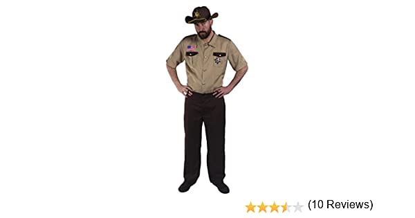 ILOVEFANCYDRESS - Disfraz de Sheriff Americano (Camiseta ...