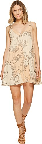 O'Neill Junior's Hazel Strappy Back Dress, Peach Puree/Can, L