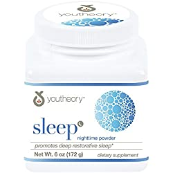 Youtheory sleep-aids, White, Natural Lemon-Lime, 6 Ounce