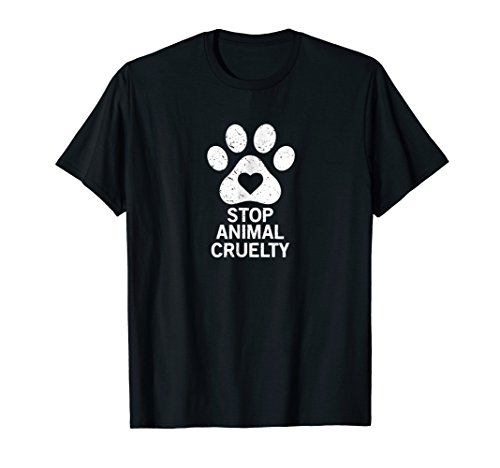 stop animal cruelty cause t-shirt