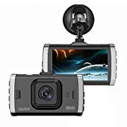 "#AmazonGiveaways Nesolo Full HD 1080P Car Dash Cam 170° Wide Angle 3"" Dashboard Camera DVR Video Recorder with HDR Night Vision,Loop Recording,Parking Mode,G-Sensor"