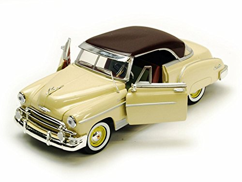 Motor Max 1:24 W/B American Classics 1950 Chevrolet Bel Air Coupe Diecast (1950 Chevrolet Bel Air Vehicle)