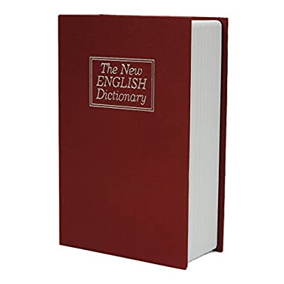 FCH Dictionary Book Secret Safe Box with Key Lock