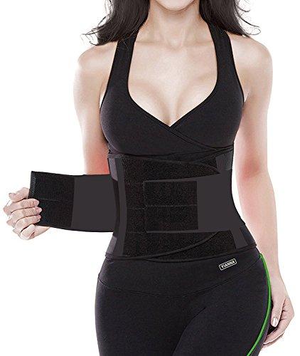 YIANNA Women Waist Trainer for Weight Loss Sport Training Sweat Belt Body...