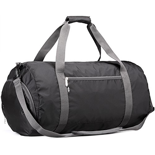 Gym Bag - Workout Duffle for Men and Women with Shoe Compartment by WEWEON
