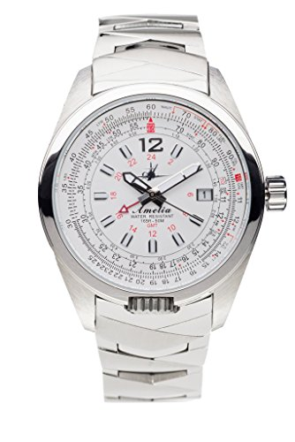 Amelia - Cloud White with Stainless Steel Band