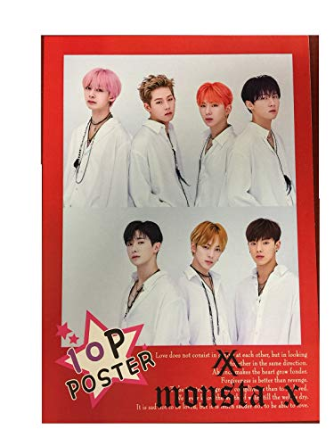 (Fancy105 Monsta X Photo Posters (10)