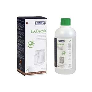 De'Longhi EcoDeCalk Natural Descaler for Coffee Machines, 16.90 oz