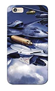 Crazinesswith Series Skin Case Cover Ikey Case For Iphone 6(macross)
