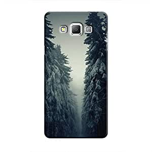 Cover It Up - Lonely Forest Galaxy A7 Hard case