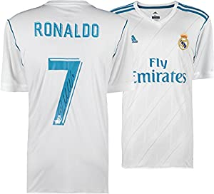 Cristiano Ronaldo Real Madrid C.F. Autographed 2017-2018 Jersey - Fanatics Authentic Certified - Autographed Soccer Jerseys