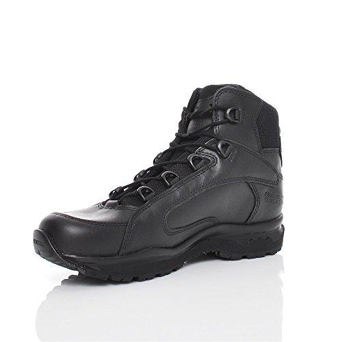 Haix Dakota Mid Black Chaussure Professionnelle et de Loisir, multifonctionnelle (Hauteur Cheville)