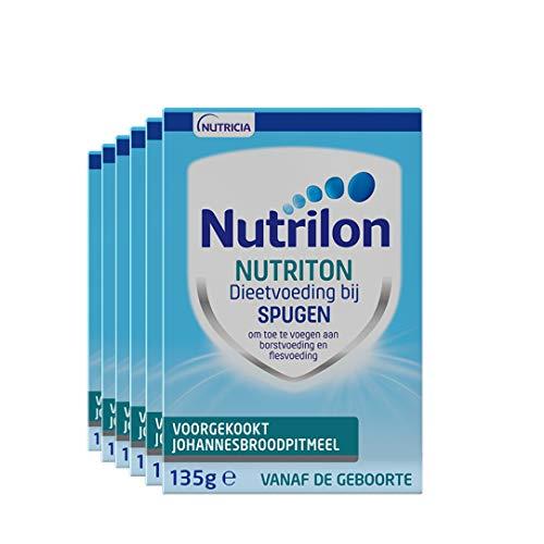 Nutrilon Nutriton Johannesbroodpitmeel – vanaf 0 maanden – 6×135 gram – Flesvoeding