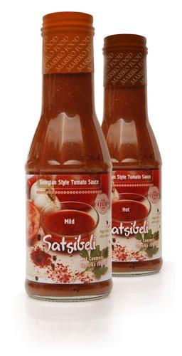 Satsibeli-Georgian Style Tomato Sauce (MILD) 1 Bottle 12 FL OZ (355ml)