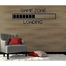 Wall Decal Game Zone Play Room Gamer Video Game Boy Art Vinyl Stickers VS2747