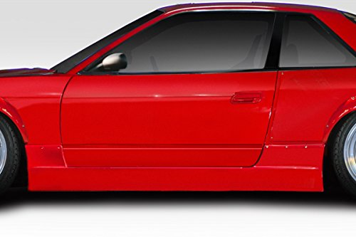 Duraflex Replacement for 1989-1994 Nissan 240SX S13 2DR RBS V1 Side Skirts - 2 ()