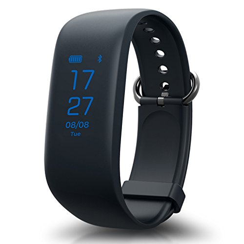 Fitness Tracker, HQBEI Z8 Activity Wristband: Heart Rate Monitor Bluetooth Fitness Integrated Wristband Bracelet, Waterproof Activity Tracker for Android & IOS