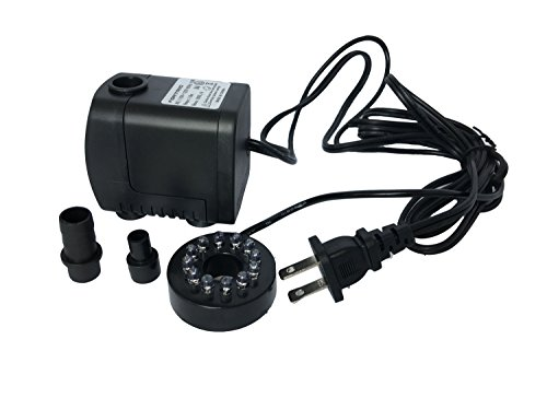 Small Fountain Pump With Led Lights - 6
