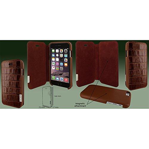 Piel Frama Wallet Case for Apple iPhone 6 / 6S - Crocodile Brown by Piel Frama (Image #4)