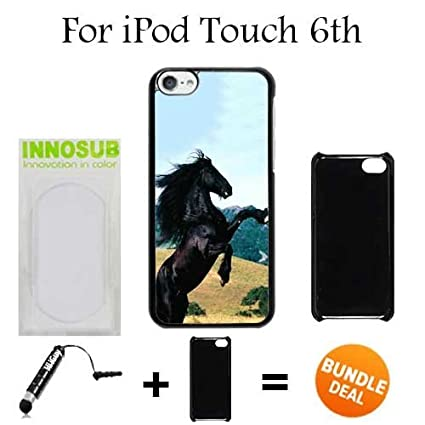 promo code 50275 e61c8 Amazon.com: Black Stallion Arabian Horse Custom iPod 6/6th ...