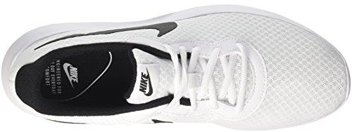 Nike Mænds Tanjun Sneakers, Åndbar Tekstil Overdel Og Komfortabel Letvægts Polstring Hvid / Sort (101)