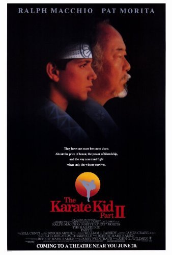The Karate Kid: Part 2 POSTER Movie (27 x 40 Inches - 69cm x 102cm) (1986) - Kid Movie Poster