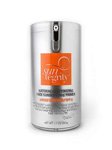 All Natural Moisturizing Face Protection SPF 30, Suntegrity