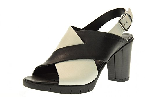 NERO THE FLEXX Bianco sandali 03 BIANCO C611 nero scarpe donna YUMMY 8qOxB8Fr