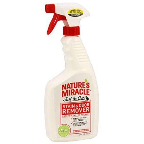 Amazon.com: Natures Miracle, Removedor de olor y manchas ...
