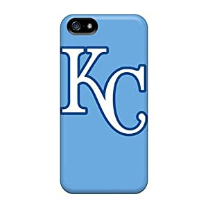 Tpu Anne Marie Harrison Shockproof Scratcheproof Kansas City Royals Hard Case Cover For Iphone 5/5s
