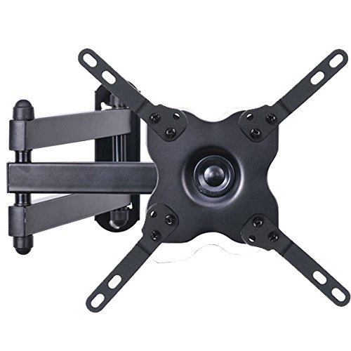 32 Tilt Lcd Wall Mount (VideoSecu TV Wall Mount Monitor Bracket with Full Motion Articulating Tilt Arm 15