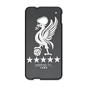 HTC One M7 Phone Case for Liverpool Logo pattern design GLVPLG696247