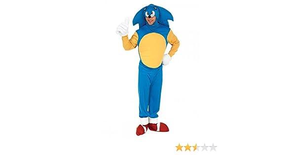 Rubbies - Disfraz de Sonic para hombre, talla XL (888816XL ...