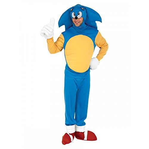 Rubie's Official Sonic The Hedge Hog Fancy Dress - -