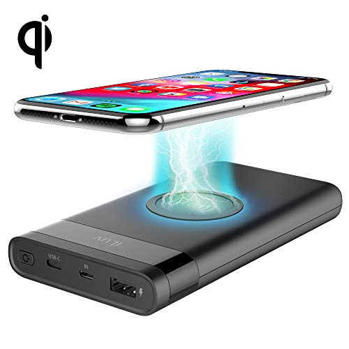 iLuv 10,000mAh myPower 10Q Slim Charger with Qi Wireless Charging