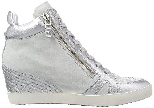 Kennel und Schmenger Schuhmanufaktur Soho - zapatillas deportivas altas de piel mujer Plata - Silber (silver/silver Sohle weiss)