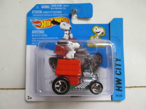 2014 Hot Wheels Hw City - Snoopy [Short Card]