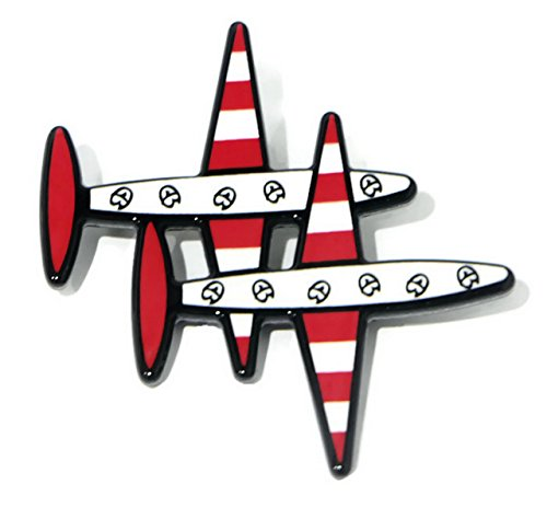 Clip a plane Brooch for backpacks, clothing, girls, pack, jeans, set, kids, men, boy