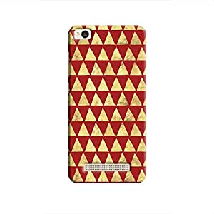Cover It Up - Gold Triangle Tile Redmi 4A Hard Case