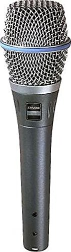 Shure BETA 87A Supercardioid Condenser Microphone for Handheld Vocal Applications (Cardioid Dynamic Microphone Shure)