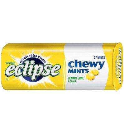 Eclipse Chewy Mints Lemon Lime 27g x 20
