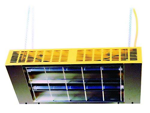 TPI CH22121C Suspended/Portable Quartz Infrared Heater, 1000W
