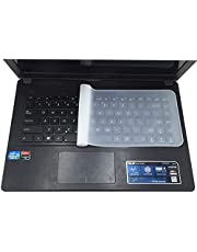 Notebook Keyboard Film for 15-17 Inch Universal Fully Covered Flat Style Waterproof Anti-Dust Keyboard Cases