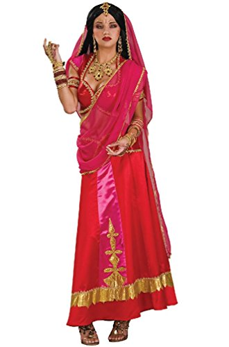[8eighteen Bollywood Indian Beauty Dancer Adult Costume] (Bollywood Costumes For Men)
