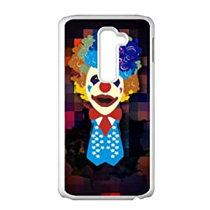 LG G2 Phone Case, With Clown Image On The Back - Colourful Store Designed