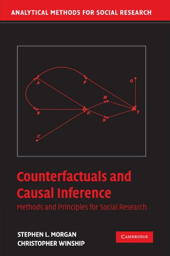 Counterfactuals and Causal Inference: Methods and Principles for Social Research (Analytical Methods for Social Research